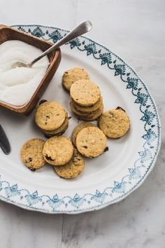 Carrot Cake Shortbread Biscuits by Izy Hossack