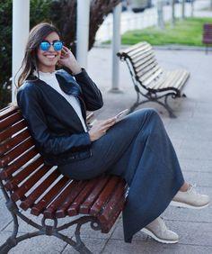 Maxi falda y #bluchers, la combinación perfecta #Oxford #bluchers #Lince #LinceShoes #blogger