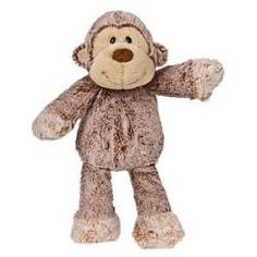 """Marshmallow Monkey by Mary Meyer - 40480  What do you get when you combine ultra soft toys with dangly bodies that feel like they've been loved for years? A whole zoo full of toys so soft we call them Marshmallow Zoo! Measures 13"""""""