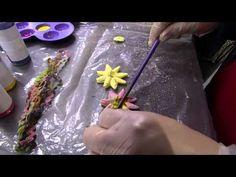 Mulher.com29/07/2014 - Tingimento e Bordado Sianinha por Valeria Soares - Parte 1 - YouTube
