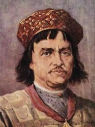 Bolesław V (1226 - 1279). High Duke from 1243 until his death. He married Kinga of Poland but had no children.