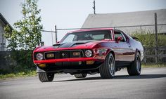 1971 Ford Mustang Mach 1 Photo by: Jay Ramey