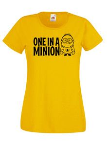 £9.99 One In A #Minion #Despicable Me Ladies #Tshirt Size 10/12/14/16/18 Various Colours - Worldwide delivery
