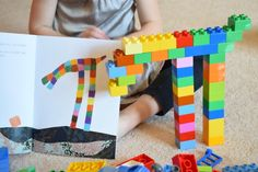 Explore Pezzettino by Leo Lionni with Duplo or Lego Bricks