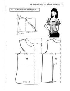 Easy Sewing Patterns Clothing Patterns Dress Patterns Pattern Fashion Sewing Hacks Sewing Crafts Sewing Projects Make Your Own Clothes Top Pattern Blouse Pattern Free, Blouse Patterns, Clothing Patterns, Top Pattern, Sewing Blouses, Sewing Aprons, Sewing Sleeves, Make Your Own Clothes, Easy Sewing Patterns