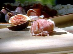 Prosciutto Wrapped Figs And Blue Cheese Recipe   Michael Chiarello   Food Network