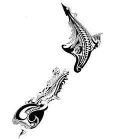 Just playing around with - maori tattoos Koru Tattoo, Maori Tattoos, Maori Tattoo Frau, Polynesian Tattoos Women, Polynesian Tattoo Designs, Tattoo Motive, Body Art Tattoos, Tattoo Ribs, Polynesian Men