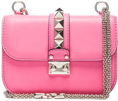 Valentino Small Lock Flap Bag in Red Patent ~This bag is beautiful~The color is fab also.