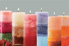 Pilar candles they are so pretty