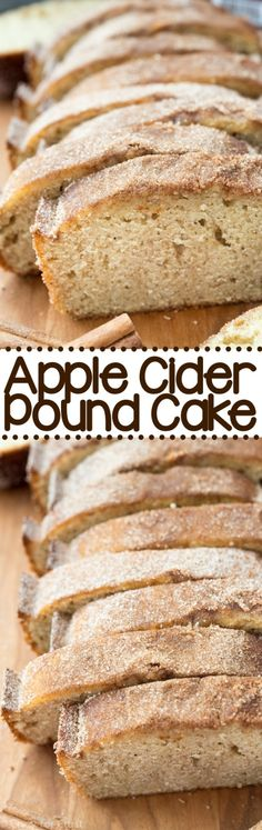 Apple Cider Pound Cake - getting made after a quick stop at the grocery store!!