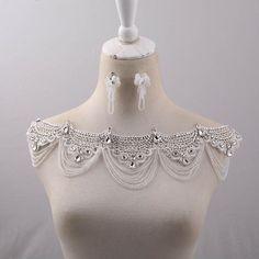 rhinestone body chain bridal shoulder necklace wedding body jewelry