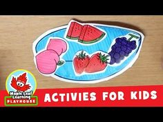 Fruit Bowl Activity for Kids   Maple Leaf Learning Playhouse - YouTube
