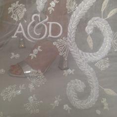 Hermione de Paula | Wedding Dress | Wedding Shoes | #couture #weddingdress #embroidery #hermionedepaula #hdpbridal