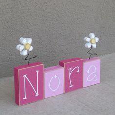 Cute cute name blocks