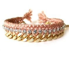 Rhinestone Friendship Bracelet
