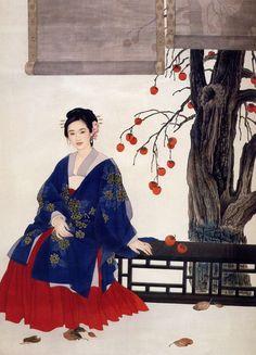 Wang Meifang(王美芳) &   Zhao Guojing(赵国经) , 秋