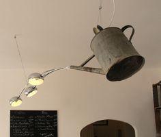 arrosoir chandelier