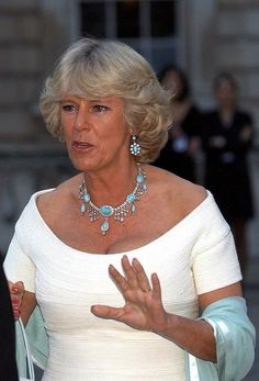 On July, in London, at a society party at Somerset House (fundraising event for the charity ARK - Absolute Return for Kids - and the Somerset House Education Programme) Royal Monarchy, British Monarchy, Camilla Duchess Of Cornwall, Duchess Kate, Prince Charles And Diana, Royal Uk, Camilla Parker Bowles, Queen Pictures, English Royalty