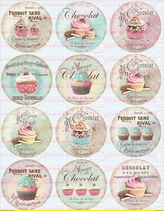 Sweet Cars 151363237451747406 - Shabby chic Sweets Circles Micro slides Source by littlepotato Printable Labels, Free Printables, Labels Free, Printable Stickers, Shabby Chic Paper, Diy And Crafts, Paper Crafts, Images Vintage, Vintage Labels