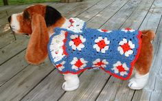 Crochet Dog Jacket          Dog Clothing & by DogBritchesnMore
