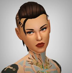 """5ec53bc80dc5 This hair is modeled so obviously after Mass Effect s Jacqueline """"Jack""""  Naught"""