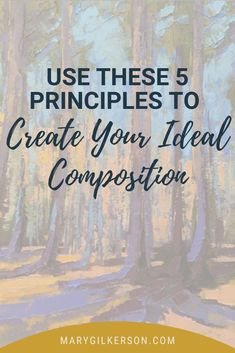 Create a successful painting or artwork using the basic art principles and elements, most importantly the guidelines of composition and design. Dive into these art tips and start putting paint to canvas today! Save this pin and click through to read more!