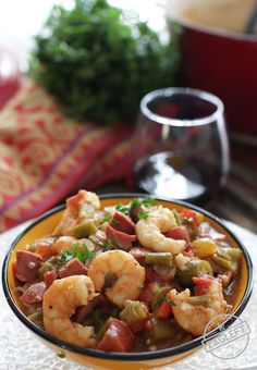 Flavorful Smoked Sausage and Shrimp Gumbo, easy to make, authentic New ...