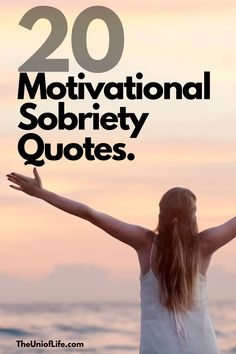 Sometimes we all need a bit of inspiration and what better than a motivational quote. Here are some great motivational sobriety quotes to help inspire you on your sobriety journey. #soberliving #sobriety #soberlife #motivationalquotes #sobrietyquotes #sobrietyencouragement Sober Quotes, Sobriety Quotes, Quit Drinking Alcohol, Quitting Alcohol, Addiction Recovery Quotes, Getting Sober, Sober Life, Love Affirmations, Life Choices