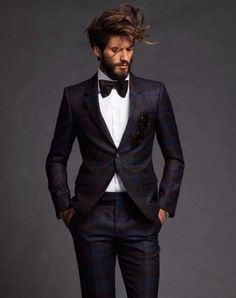 this beautiful plaid suit