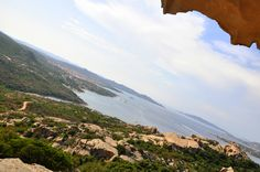 view from Capo D'orso
