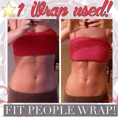 *FIT PEOPLE WRAP* It's obvious from the before photo featured that this gal works out However, notice the enhancement of her hard work after using 1 body wrap The tightening and firming effects from It Works! Ultimate Body Applicator was not only designed for people with undesired flab or loose skin Active types can benefit from wrap use as well - further showcasing what they already have built up from exercise and lifting. Visit www.wrapology101.com to order yours today!