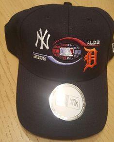 2006 MLB BASEBALL WORLD SERIES ALDS NEW YORK YANKEES DETROIT TIGERS HAT CAP #NewEra #NewYorkYankees