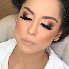 [New] The 10 Best Eye Makeup Today (with Pictures) - Blue Makeup Looks, Prom Makeup Looks, Cute Makeup, Glam Makeup, Makeup Tips, Beauty Makeup, Hair Makeup, Perfect Makeup, Wedding Eye Makeup