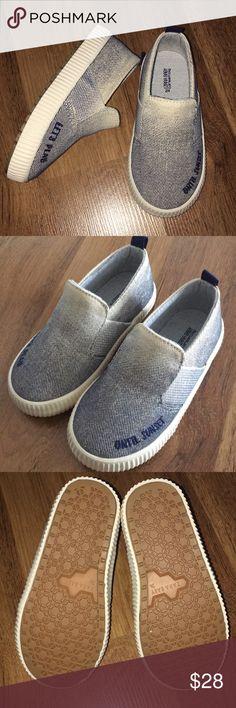 Denim Toddler Shoes US 7 1/2 Cute Denim Look Wear for Kids Size 24 is US 7 1/2 Zara Shoes