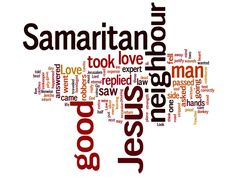The parable of the Good Samaritan as told in Luke 10:25-37 On one occasion an expert in the law stood up to test Jesus. Description from whatdidijusthear.com. I searched for this on bing.com/images