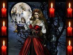 Wicca, Witchcraft, Religion, Spirituality, Princess Zelda, Painting, Thalia, Koi, Portal