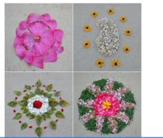 Vidya also shares a tutorial on How to make a Pookalam, that's a must-see for anyone who is fascinated with this rangoli form, and wants to try it out! {Diwali Inspiration} Pookalam ideas by Vidya Nair. |The Keybunch Decor Blog|