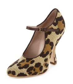 Leopard Olly Mary Jane Shoes Vivienne Westwood