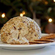 Traditional Christmas Cheese Ball Allrecipes.com