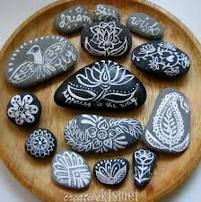 painting rocks - Google Search