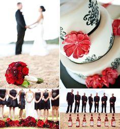 Red Wedding Decor    Ben Sheriff Photography