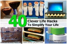 35 Life Hacks You Should Know [PIC]