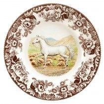Spode Woodland 27cm Plate (RG) Arabian Horse