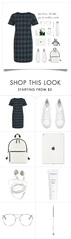 """You're my world"" by thedailywear ❤ liked on Polyvore featuring H&M, French Connection, J.Crew, tarte, Chloé and S'well"