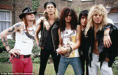 Axl Rose, Duff McKagan, Slash, Izzy Stradlin and Steven Adler, Duff Mckagan, Guns And Roses, Rock N Roll, Pop Rock, John Varvatos, Hard Rock, Heavy Metal, Axl Rose Slash, Steven Adler
