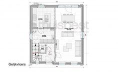 Realisatie | Thuis Best woningbouw |BEN woning Klassiek type A - gelijkvloers.  Eigen woning bouwen? www.thuisbest.be