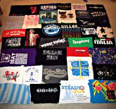 T-Shirt blanket just for the photo blog wasn't overly helpful