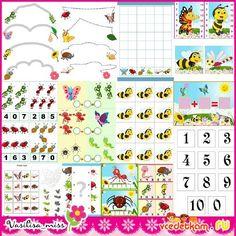 Набор дидактических игр для детей Насекомые | A set of educational games for kids Insects