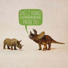 Just 2 Horns? Hahahahahahahaha! Pathetic!