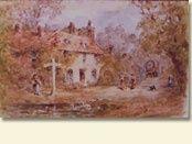 Jane Austen's House Museum. Chawton, England. jane-austen
